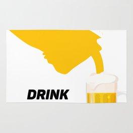 California Drinking Team Beer Lovers Drink Local Rug