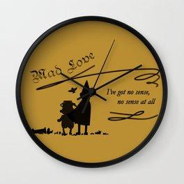 Mad Love Wall Clock