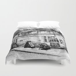 The Anchor Pub London Art Duvet Cover