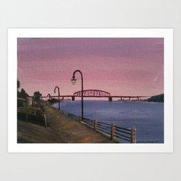 NC Beach Inspired 12 Art Print