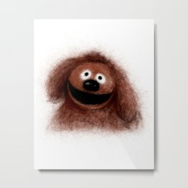 Rowlf, The Muppets Metal Print