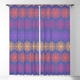 Vintage Kaleidoscope Blackout Curtain