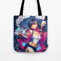 barachan Tote Bags featuring seventh heaven by barachan