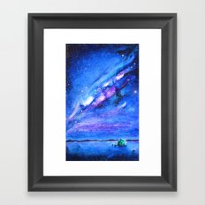 Cosmic Madness Framed Art Print