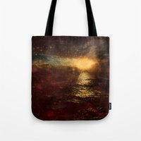 italian Tote Bags featuring Italian Sunset  by Brianna Clare