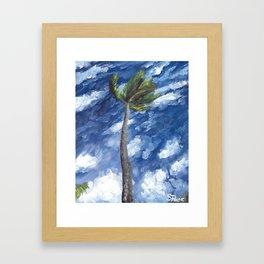 Kailua Palm Framed Art Print