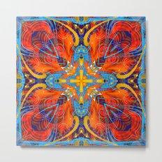 Mandala #6 Metal Print
