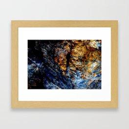 Blue Tears Framed Art Print