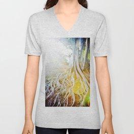 Tree of Light Unisex V-Neck