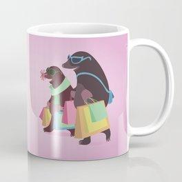 Shopping Moles Coffee Mug