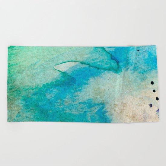 Pastel Color Splash 07 Beach Towel