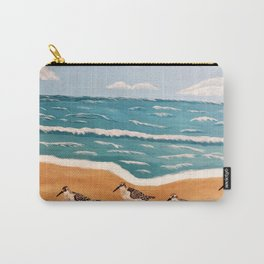 Sand Pipers on the Beach Carry-All Pouch