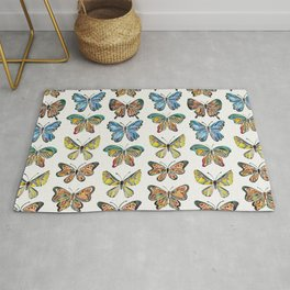 Butterfly Specimens Rug
