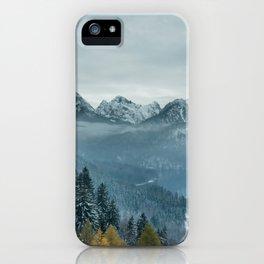 The view - Neuschwanstin casle iPhone Case