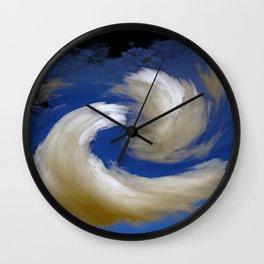 """Restless Love Clouds"" Wall Clock"