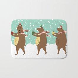 Bears as Three Kings Bath Mat