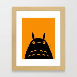MY NEIGHBOR TO TO RO  Framed Art Print