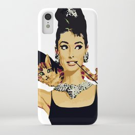 Breakfast at tiffany's | Audrey Hepburn iPhone Case