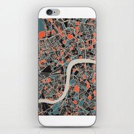 London Multicoloured Print iPhone Skin