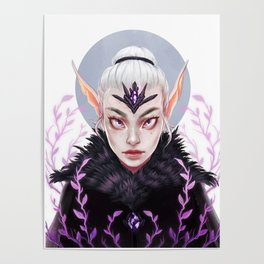 Elf Nature Witch Poster