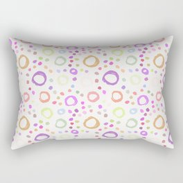circles (13) Rectangular Pillow