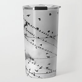 Birds Before the Storm Travel Mug