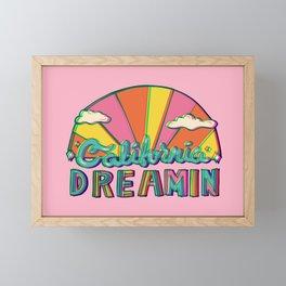 California Dreamin' in 3D Framed Mini Art Print