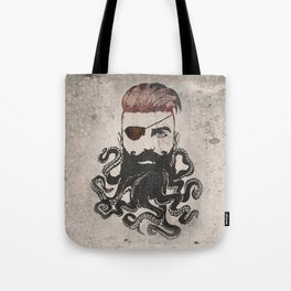 Black Beard Tote Bag
