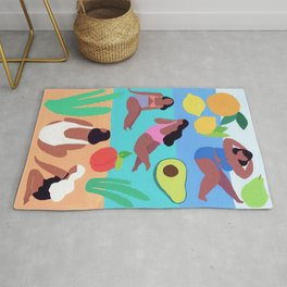 Fruity Beach Rug