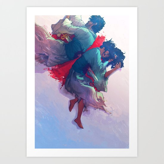 The Prophecy Art Print