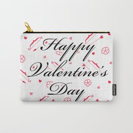Happy Valentine's Day: Cupid's Arrow Carry-All Pouch