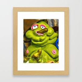 Meet Chester: Pickle Time Framed Art Print
