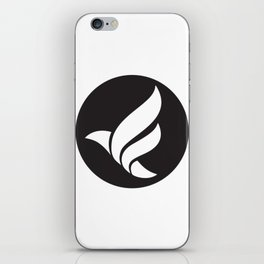 LFN b&w logo iPhone Skin