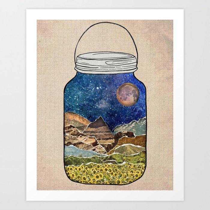 Star Jar Kunstdrucke