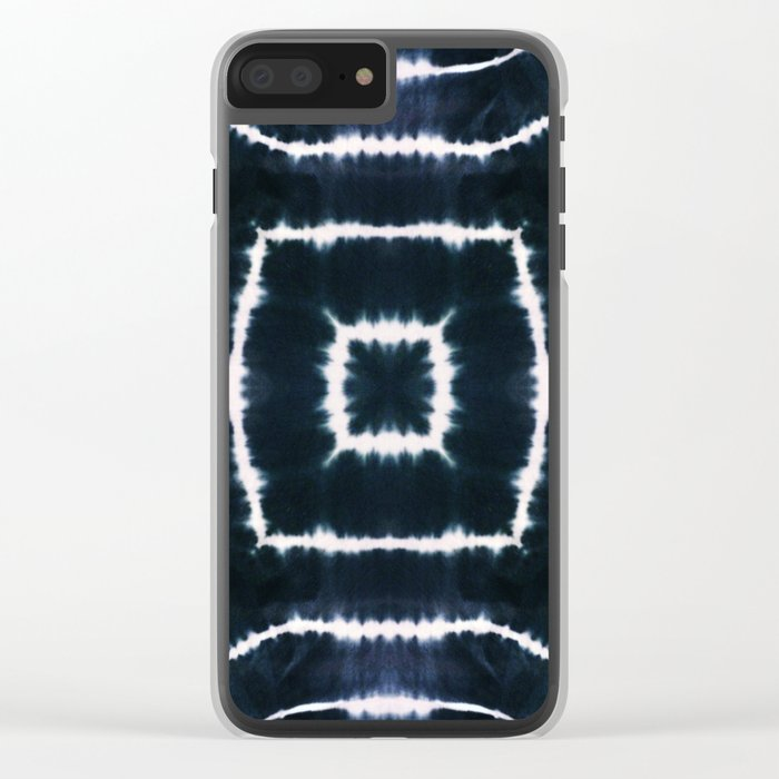 CASTLE OF GLASS - INDIGO Clear iPhone Case