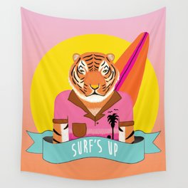 Surf's Up - whistleburg Wall Tapestry