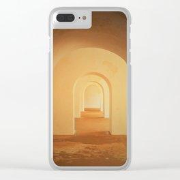 Puerto Rico Doors Clear iPhone Case
