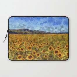Vincent Van Gogh Sunflowers Laptop Sleeve