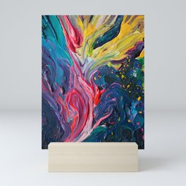 Bird Flower Mini Art Print