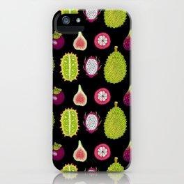 strange fruits iPhone Case