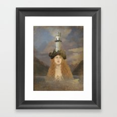 Rapunzel's Tower Framed Art Print