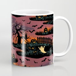 Halloween Night - Bonfire Glow Coffee Mug