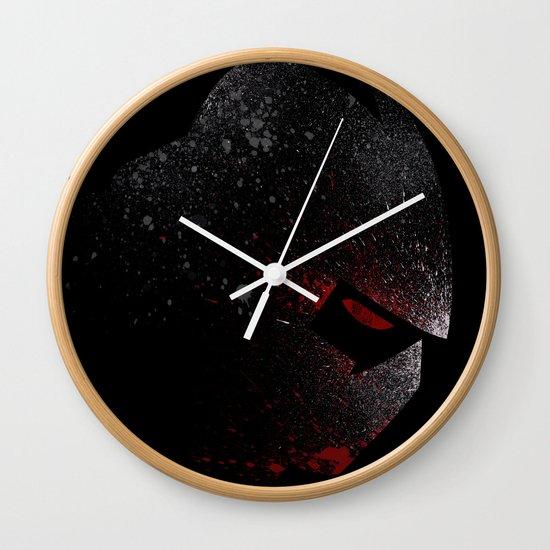 Foot Clan Master Wall Clock