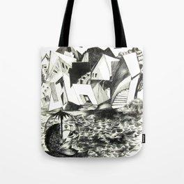 Sailing Fish Tote Bag