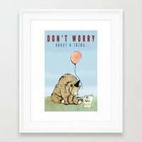 birthday Framed Art Prints featuring Birthday by Emily Stalley