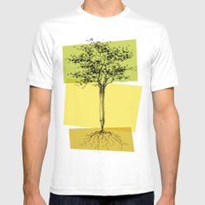 Ideas Don't Grow On Trees Mens Fitted Tee MEDIUM White