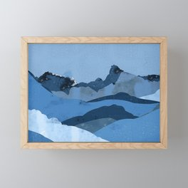 Mountain X Framed Mini Art Print