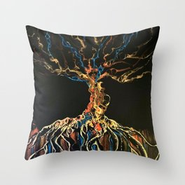 The Changeling Tree Throw Pillow
