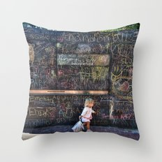 Taking my Chalk and Going Home Throw Pillow