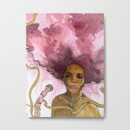 Macy Gray's Greatest Hits Metal Print